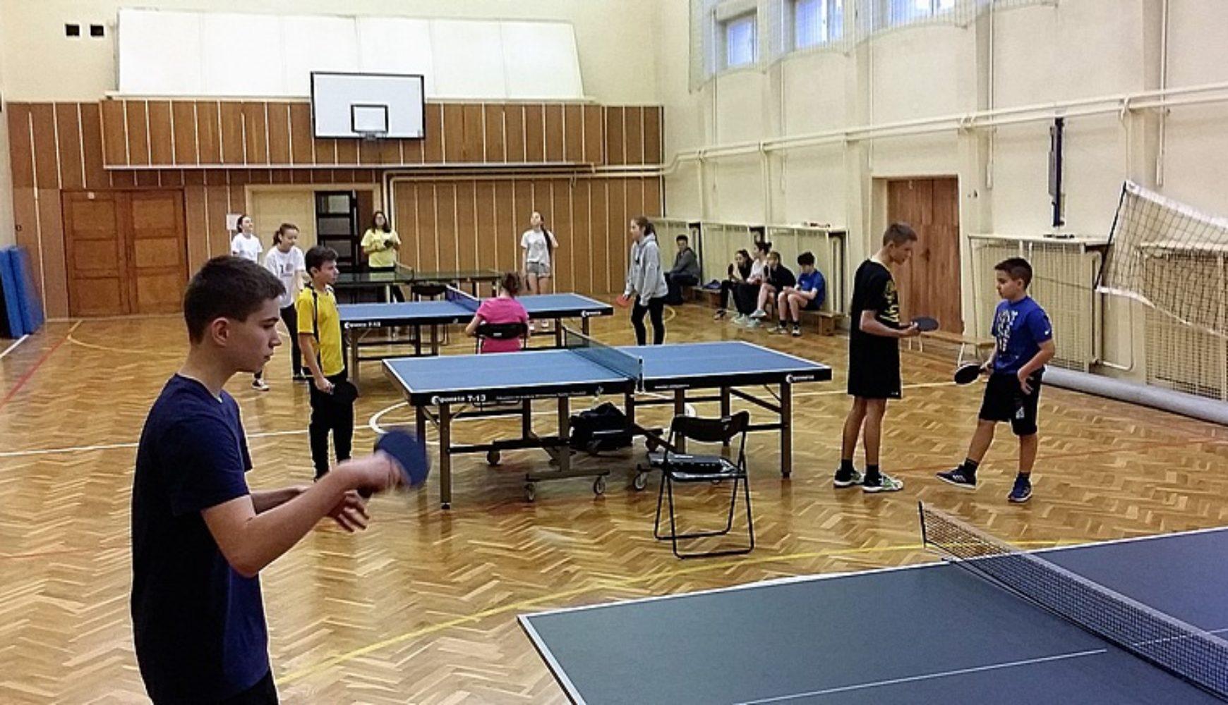XI Turniej Tenisa Stołowego dla Szkół Gimnazjalnych