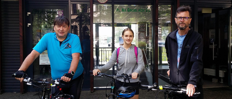 Wycieczki rowerem zinstruktorami MOS Zachód
