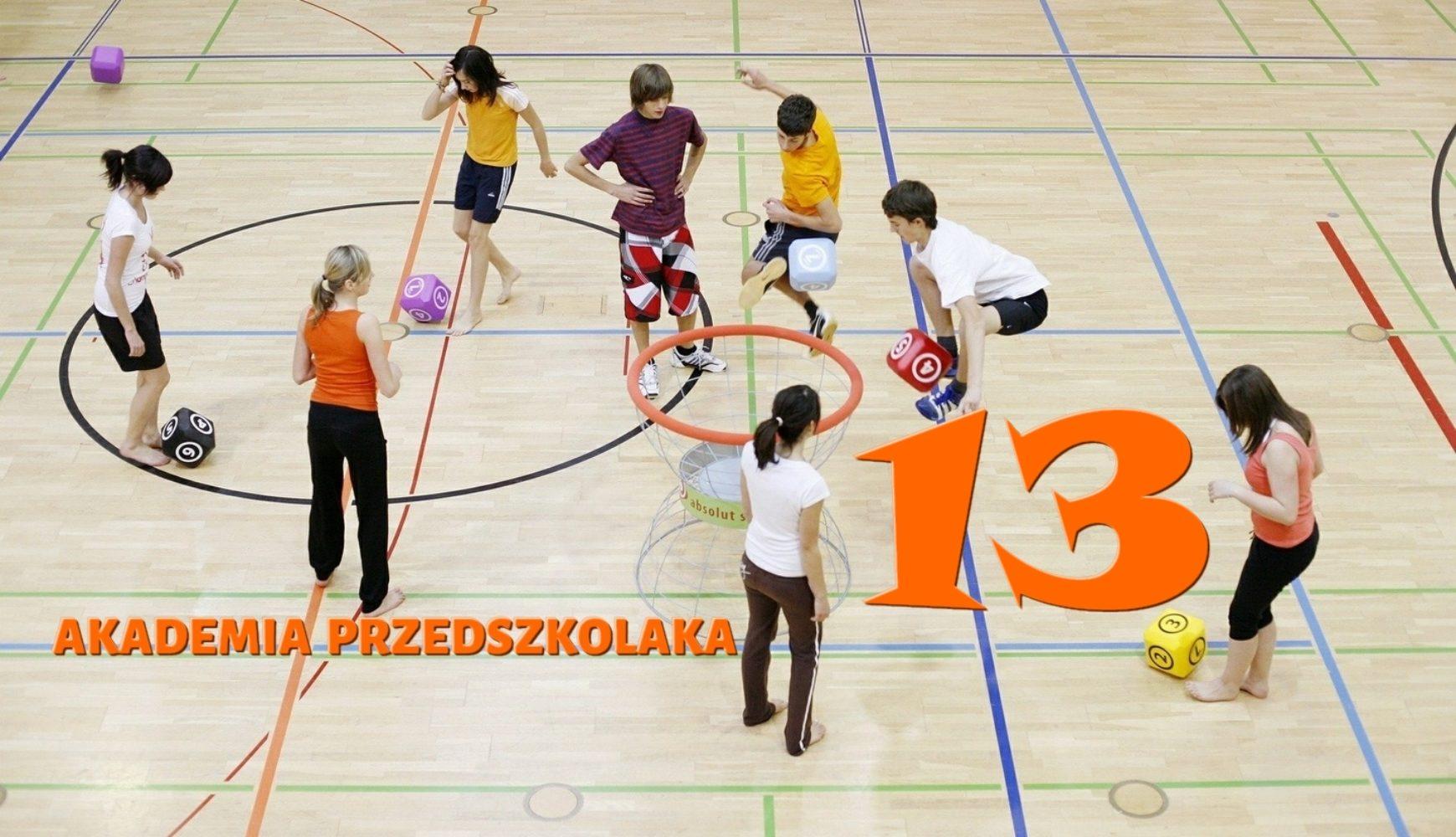 Ćwiczenia domowe – 13 – Akademia Przedszkolaka