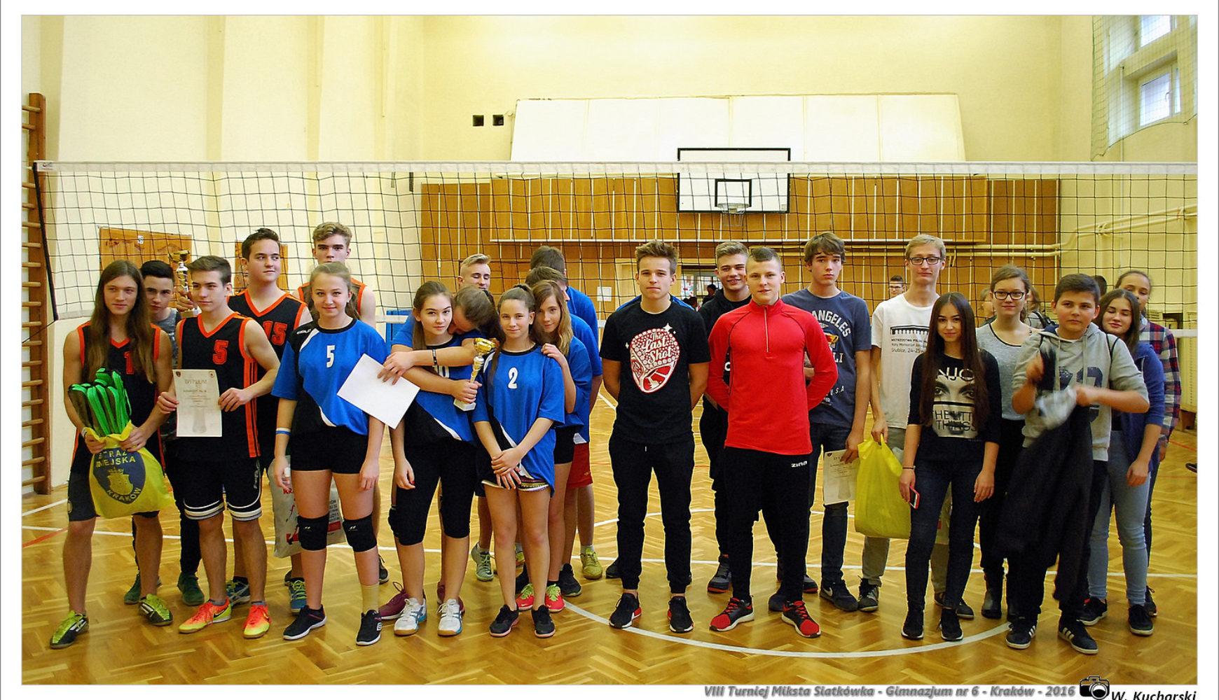 VIII Turniej Miksta Siatkówki wGimnazjum nr6