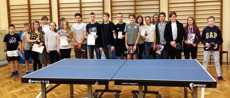 XII Turniej Tenisa Stołowego dls Szkół Gimnazjalnych